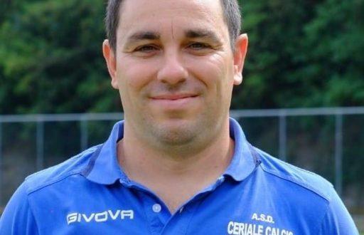 Andrea Savona allenatore settore giovanile del Ceriale Calcio