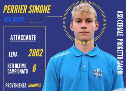 Simone Perrier approda in Prima Squadra e ci fa una promessa…